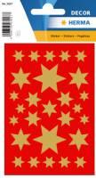 Stickers - Decor stjerner guld