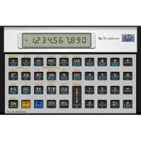 HP 12CPL Platinum DK finansregner 10 tegn