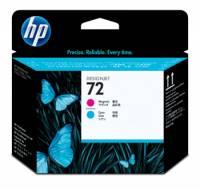 HP C9383A 72 original magenta & cyan printhoveder