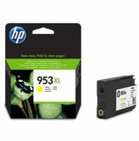 HP 953XL F6U18AE original blækpatron yellow/gul