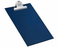 Bantex clipboard A4+ med jumboclips blå