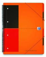 Oxford International OrganiserBook A4+ linieret