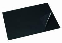 Bantex skriveunderlag med heldækkende dækplade sort