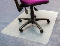 Floortex Advantage budget stoleunderlag med pigge 90X120 klar