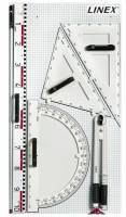 Linex magnetiske lineal til Whiteboardtavler og andre magnetiske tavler
