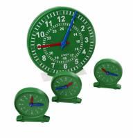 Linex undervisnings ursæt med 1 stort ur og 24 små ure