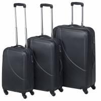 """Pierre Executive light kuffertsæt 20"""", 24"""" og 28"""" sort"""