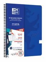 Oxford Touch notesbog A4 linieret blå