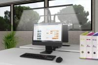 Unilux Strata LED skrivebordslampe sort