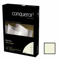 Conqueror kopipapir 100g A4 Laid Oyster, 500 ark