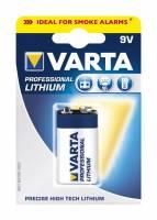 Varta pro Lithium 9V op til 7x længere levetid - batteri