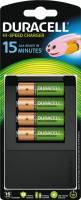 Duracell 15 minutters batteri oplader