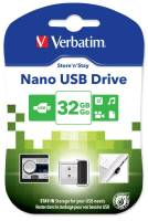 USB Flash Drive Verbatim NANO Store'n'Stay 32GB 98130