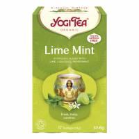 BKI Yogi Lime Mint te, æske med 17 breve
