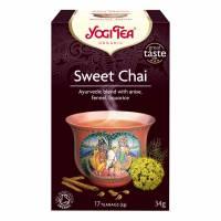 BKI Yogi Sweet Chai te, æske med 17 breve