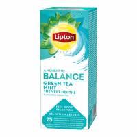 Lipton Green Tea Mint te, 25 breve