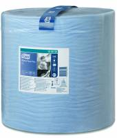 Tork Plus W1 aftørringspapir 2-lags 130050 blå