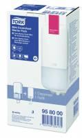 Tork aftørringspapir Startpakke med dispenser og papir