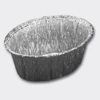 Aluminiumsform oval 260ml 120x87x47mm