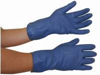 Latexhandsker medium (7½-8) blå