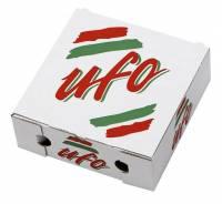 Pizzaæske Ufo neutralt tryk 26x26x9cm