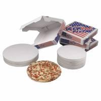 Pizzarundel Ø37cm indsats til indpakning i pitzaæsker