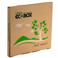 Pizzaæske Ecobox 29x29x3cm brun