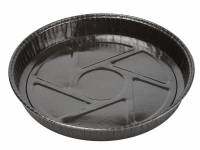 Kageform rund sort til ovn Ø205x25mm 600stk/kar Ecos