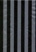 Gavepapir nålestribet 55cmx200m stribet sort og sølv