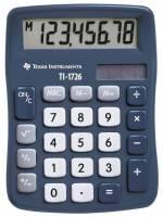 Texas lommeregner TI 1726 skråtstillet 8-cifret display