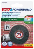 Tesa tape dobbeltklæbende montering 19mmx1,5m Outdoor