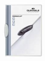 Durable Swingclip klemmappe A4 hvid, 30 ark