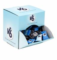 V6 dental tyggegummi display, 2x170stk