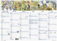Mayland kontorkalender A3 M/illustrationer 42x30cm 20063150