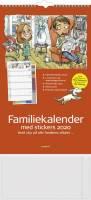 Mayland vægkalender Familiens års 4 kolonner 24x39cm 20066230