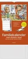 Mayland vægkalender Familiens års 5 kolonner 27x42cm 20066240