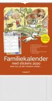 Mayland vægkalender Familiens A3 6 kolonner 30x42cm 20066250