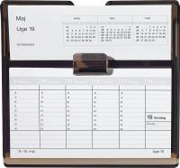Mayland Uge bordkalender refill Flip-a-week 18x10cm 20136000