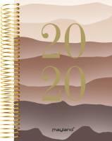 Mayland spiralkalender 12x17cm 1 dag pr side bjerg soft