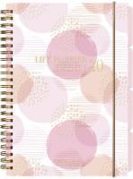 Mayland life planner kalender pink A5