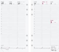 Mayland ugekalender System PP refill 9,5x17cm højformat 20275000