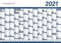 Mayland kæmpekalender 13mdr vinyl 100x70cm 21065000 2021
