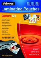 Fellowes lamineringslommer A4 125 mic glossy