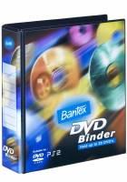 Ringordner DVD 2DR 40mm med 20 lommer PP sort