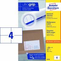 Avery universal etiket A5 6133 105x74mm, 200 ark