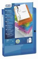 Elba Polyvision dokumentbox A4 koboltblå