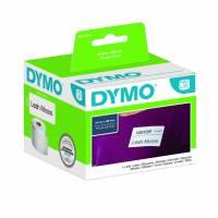 Dymo navneskilt etiketter 41x89mm 11356 hvid
