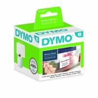 Dymo disketteetiketter 54x70mm 99015 hvid