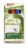 Edding 28 EcoLine whiteboardmarker 1,5-3mm, sæt a 4 farver
