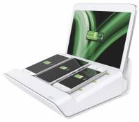Leitz XL multioplader til mobile enheder hvid